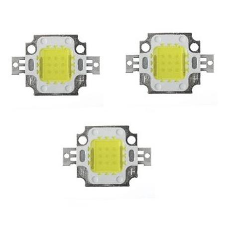 10W Cool White High Intensity LED Light – 3 Pcs