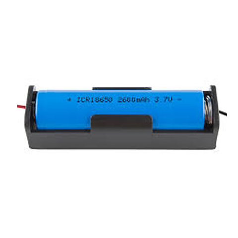 18650 battery and holder