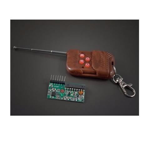 4 Channels Wireless Remote Control 315MHz -Arduino Compatible
