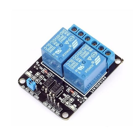 Arduino double relay