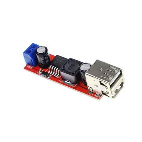 Dual USB Output 9V 12V 24V 36V 5V DC-DC Power Supply Module
