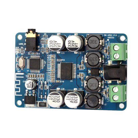 TDA7492P Bluetooth V2.1 Audio Receiver Amplifier Board Module2