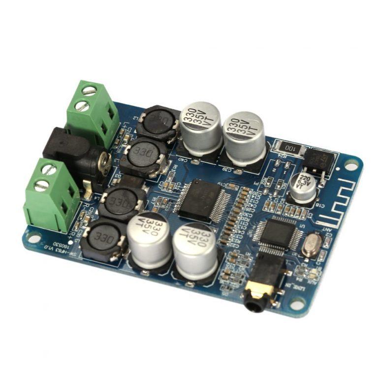 TDA7492P Bluetooth V2.1 Audio Receiver Amplifier Board Module3