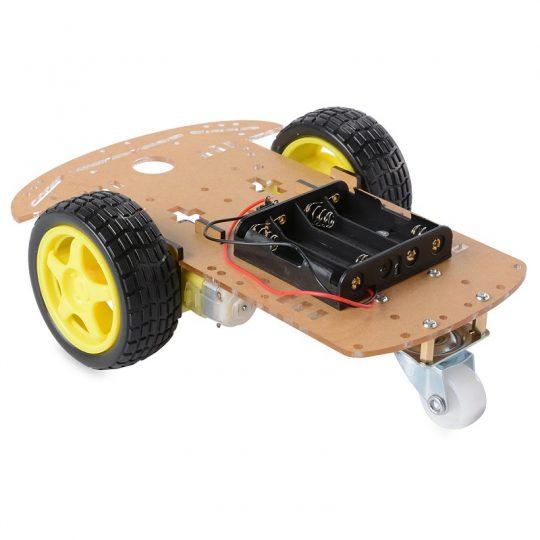 2wd motor robot